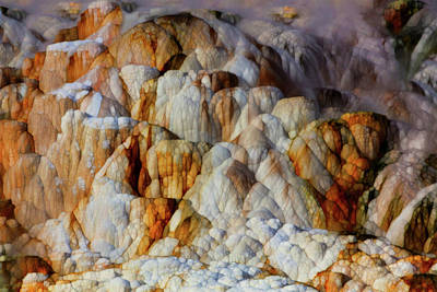 Yellowstone Digital Art - Glacial Form by Jack Zulli