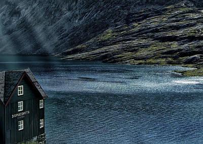 Glacial Lake Art Print by Jim Hill