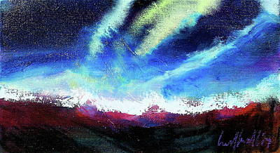 Painting - Glacial Light by Les Leffingwell
