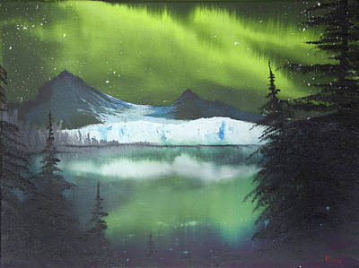 Glacial Lights Original by Adam Morris