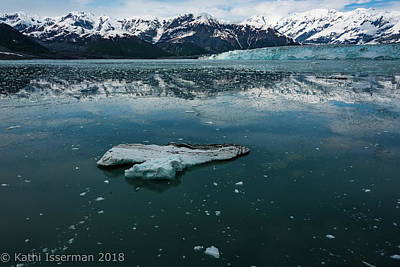 Photograph - Glacial Reflections II by Kathi Isserman