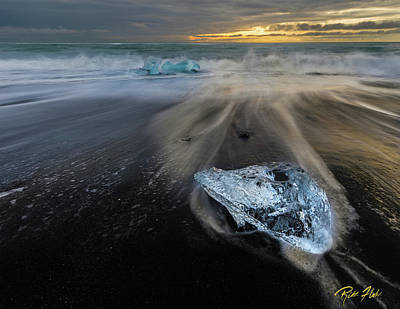Photograph - Glacial Shard by Rikk Flohr