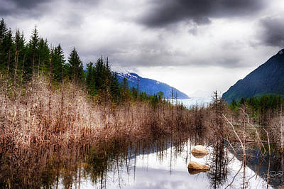 Photograph - Glacial Waters by Dee Browning