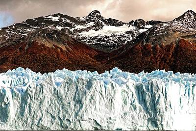 Photograph - Glaciar 18 by Ryan Weddle