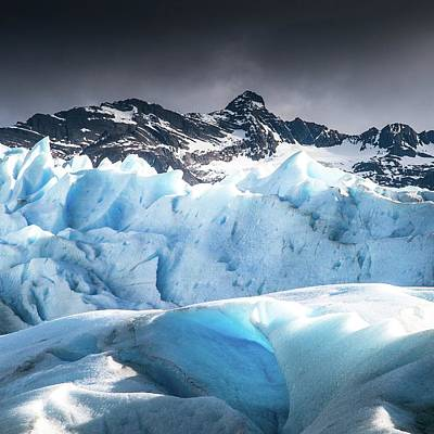 Photograph - Glaciar 4 by Ryan Weddle