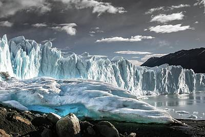 Photograph - Glaciar 74 by Ryan Weddle