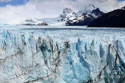 Photograph - Glaciar Perito Moreno Patagonia 3 by Bob Christopher