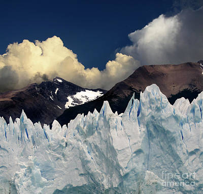 Photograph - Glaciar Perito Moreno Patagonia 7 by Bob Christopher