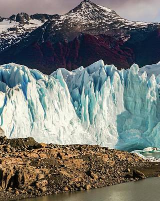 Photograph - Glacier 77 by Ryan Weddle