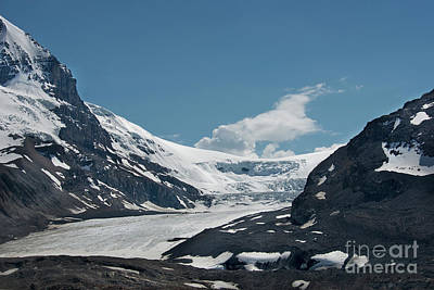 Photograph - Glacier And Ice Fields by David Arment