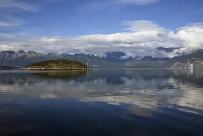 Photograph - Glacier Bay 9 by Richard J Cassato