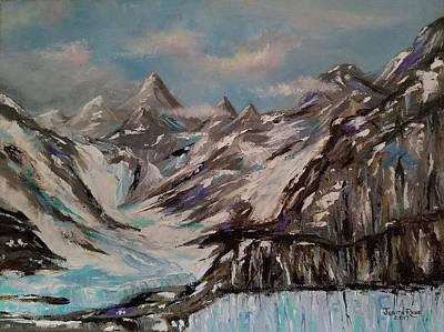Painting - Glacier Bay, Alaska by Judith Rhue