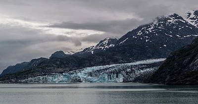 Photograph - Glacier Bay by Ed Clark