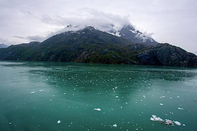 Photograph - Glacier Bay Mountain by Anthony Jones