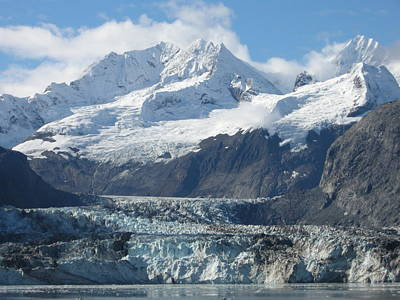 Photograph - Glacier Bay by Quwatha Valentine