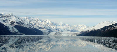 Glacier Bay Reflections Art Print