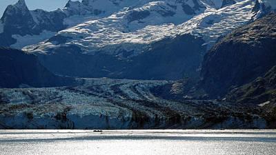 Photograph - Glacier Bay Seascapes. Lamplugh Glacier by Connie Fox