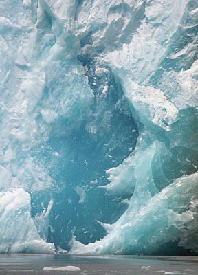 Photograph - Glacier Face by David Halperin