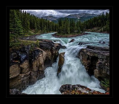 Photograph - Glacier Falls by Jaki Miller