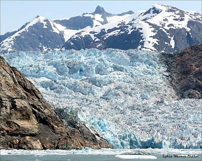 Glacier Flow 7 Art Print