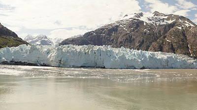 Photograph - Glacier Flow Ends by Bj Hodges