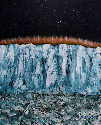 Painting - Glacier by Goran Nilsson