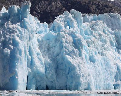 Glacier Ice 18 Art Print