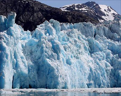 Glacier Ice 19 Art Print