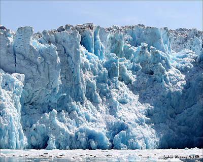 Glacier Ice 21 Art Print