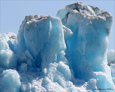Glacier Ice 28 Art Print
