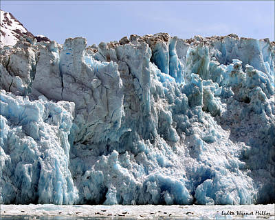 Glacier Ice 3 Art Print