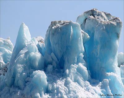 Glacier Ice 30 Art Print