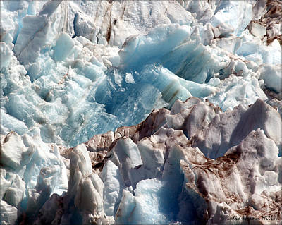 Glacier Ice 54 Art Print