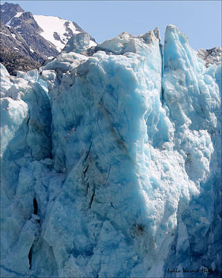Glacier Ice 55 Art Print