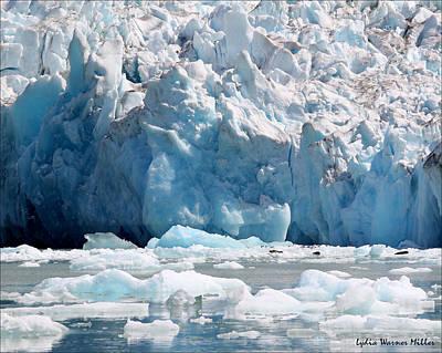 Glacier Ice 8 Art Print