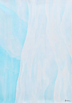 Painting - Glacier Ice by Andrea Angulo