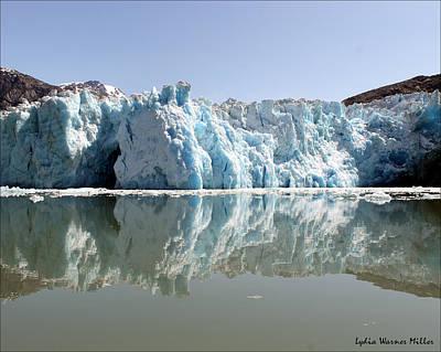 Glacier Ice Cave 24 Art Print