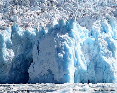 Glacier Ice Cave 9 Art Print