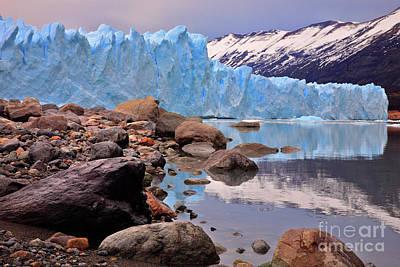 Photograph - Glacier II by Bernardo Galmarini