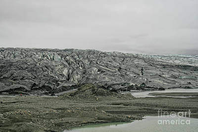 Photograph - Glacier In Iceland by Patricia Hofmeester
