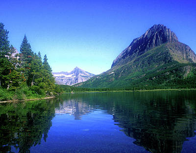 Photograph - Glacier Lake by Bill Williams