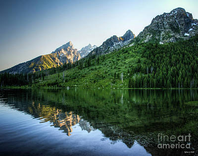 Photograph - Glacier Lake by Rebecca Hiatt