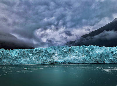 Photograph - Glacier by Lucian Capellaro