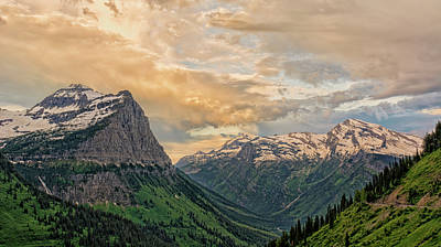 Photograph - Glacier Majesty by Loree Johnson