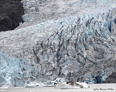 Glacier Mend 9 Art Print