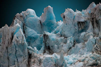 Photograph - Glacier Mountain by Brian Stevens