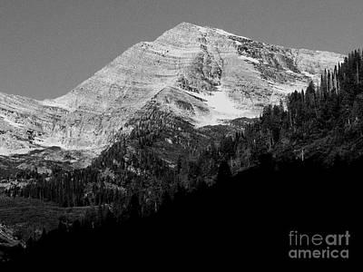 Photograph - Glacier National Park by David Bearden