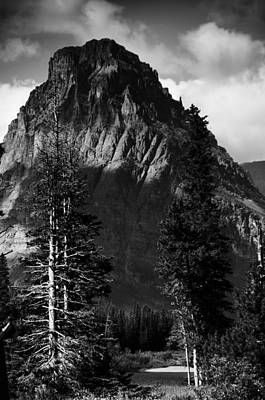 Art Print featuring the photograph Glacier National Park Fifty Three by Kevin Blackburn