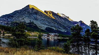 Photograph - Glacier National Park - Many Glacier Hotel by Marilyn Burton