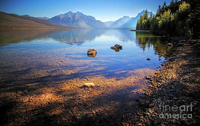 Photograph - Glacier National Park View by Craig J Satterlee